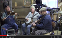 John & friends at Red Maple Fiddle Shop, Pekin. IN, 2 of 2 (Feb., 2013)